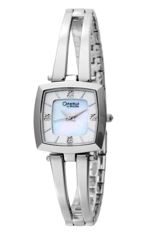Caravelle by Bulova Women's Diamond Stainless Steel