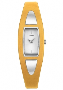 Pulsar Women's Silver Dial Two Tone