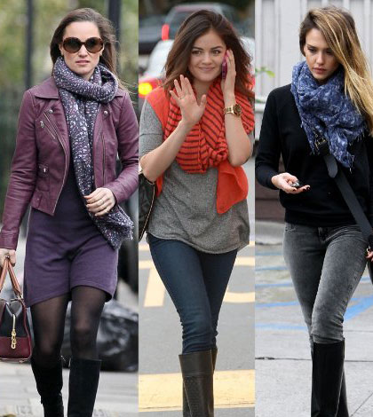 Hot Winter Fashion Colors