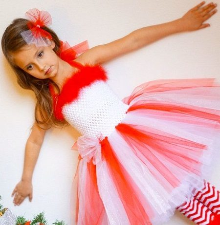 Princess Look with Christmas Dresses for Girls